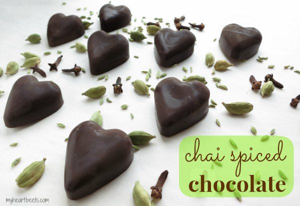 Chai Spiced Chocolate - My Heart Beets
