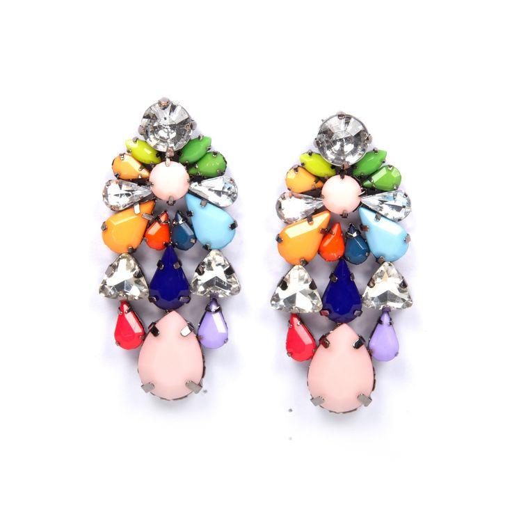 Riviera earrings - hardtofind.