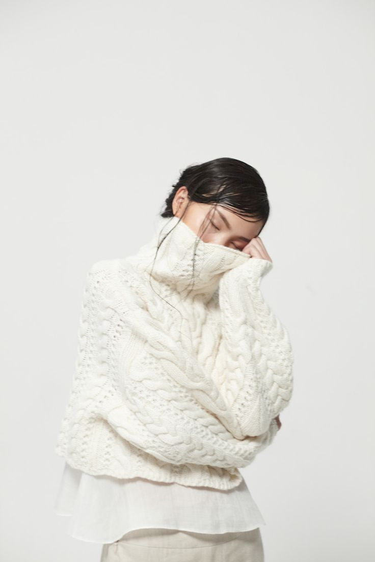 Elija Wool Sweater with Nava Organic Linen Trousers