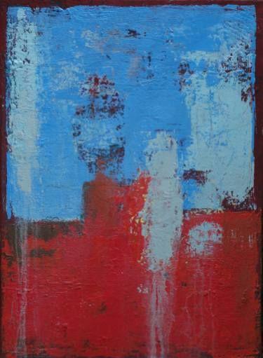"Saatchi Art Artist Agnieszka C Niezgoda; Painting, ""GOING ON..."" #art"