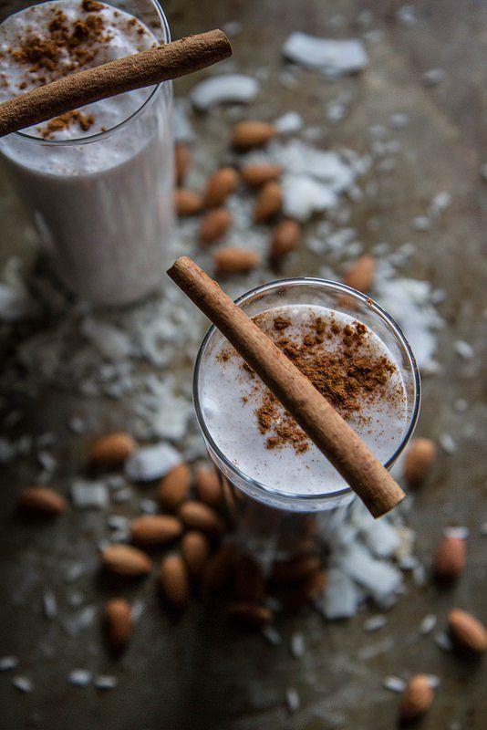 Hot Rum Horchata