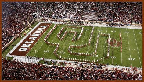 I get chills every time I see this in person. Sooner born...
