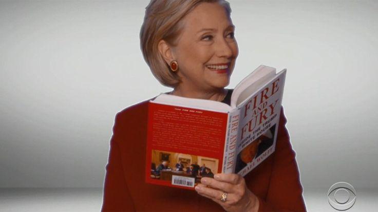 FOX NEWS: Hillary Clinton's 'Fire and Fury' reading on Grammys slammed by Nikki Haley Donald Trump Jr.