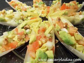 Caceroladas: Ensalada de endivias rellenas