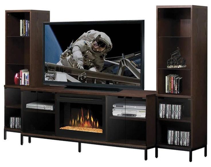 25 best ideas about modern entertainment center on pinterest modern tv room modern design - Contemporary electric fireplaces entertainment center ...