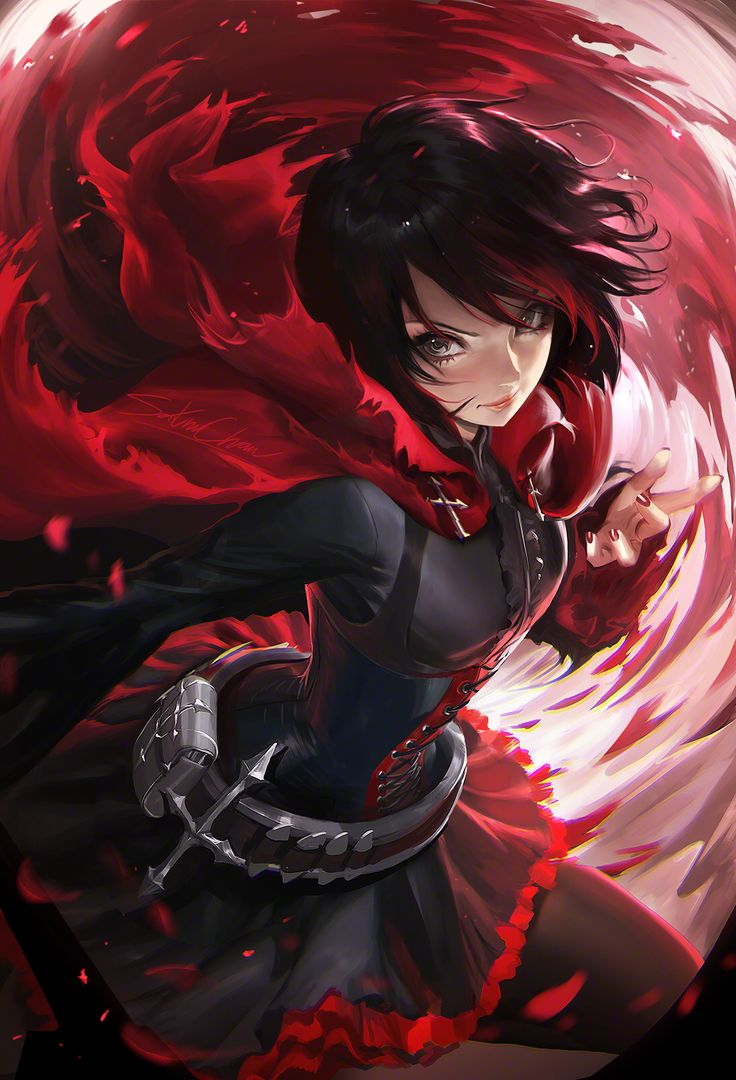Ruby Rose_ yeah not sure if this is anime, but either way,