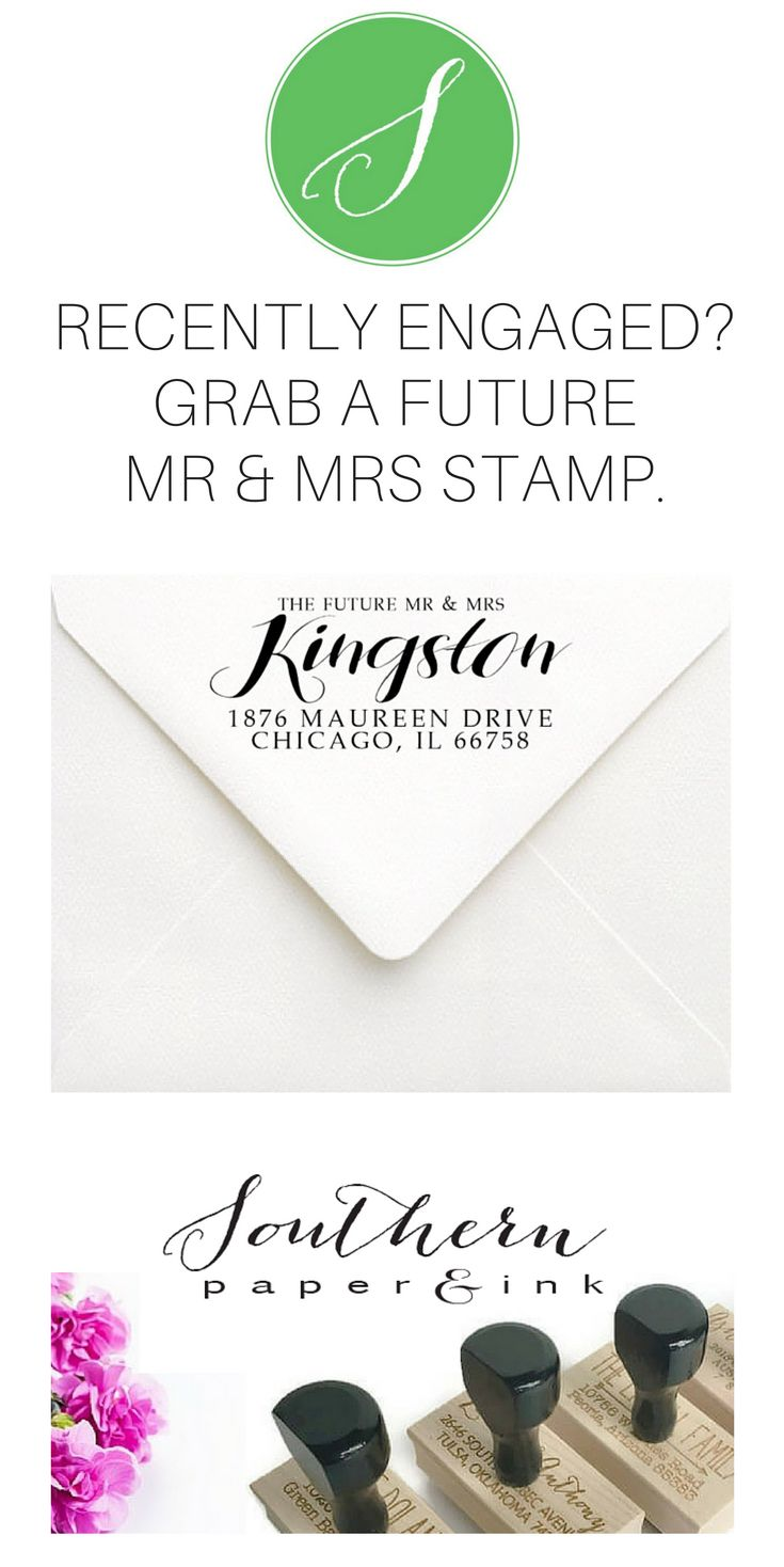 how to return address wedding envelopes%0A Beautiful Custom Return Address Stamps  Rubber Stamps  Self Inking Stamps   Wedding Stamps  Wedding Favor Stamps and Monogram Stamps