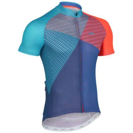 Wiggle | dhb Blok Short Sleeve Jersey - Prism | Short Sleeve Cycling Jerseys
