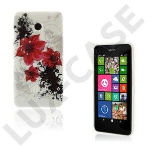 Westergaard (Flotte Røde Blomster) Nokia Lumia 630 / 635 Cover