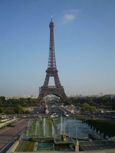 Der Eiffelturm! Paris, Frankreich