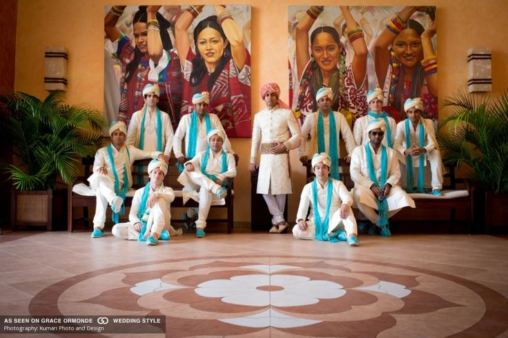 Amazing Indian Groomsman photo Daily Blog feature http://bit.ly/1QXAiEM #lizmooreweddings