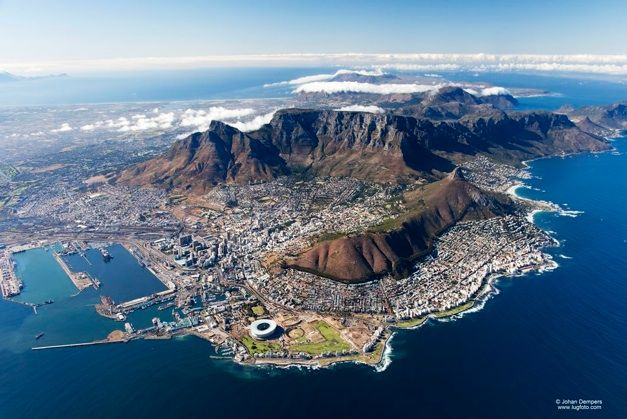 Cape Town, South Africa by Johan Dempers
