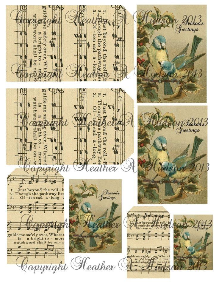 SHABBY CHIC & VICTORIAN CHRISTMAS IDEAS | Shabby Vintage chic Victorian Christmas Blue Birds ... | Decor ideas