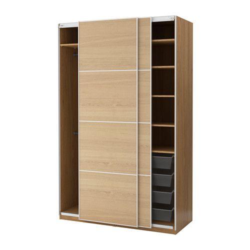 Superb IKEA PAX Wardrobe Oak effect ilseng oak veneer xx cm year guarantee Read