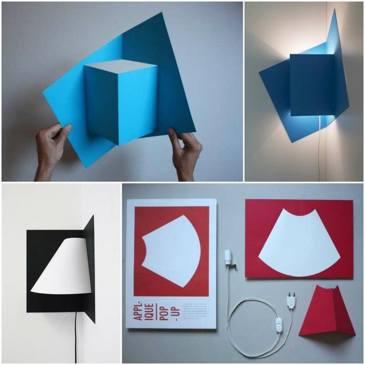 Cool Lamp Idea The Pop Up Light By Well Well Designers