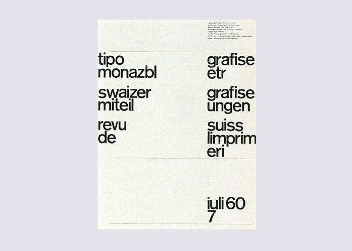 TM (Typographische Monatsblätter) Covers Designed by Yves Zimmermann