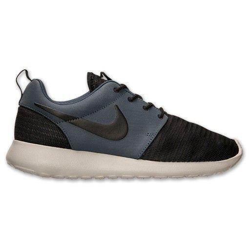 sports shoes c6d82 85f58 ... discount hommes baskets nike roshe run chaussures occasionnels noir  aimant gris foncé voile hot sale c6913