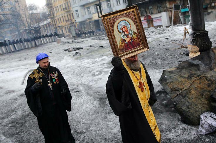 Jan Šibík, Revoluce na Ukrajině, Kyjev 2014