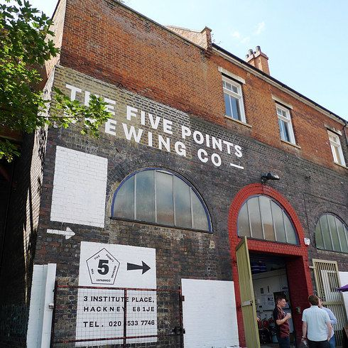 Five Points Brewing Co | 17 Boozy Tours In London You Must Do Before You Die