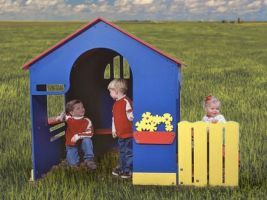 Preschool Playhouse for Toddlers