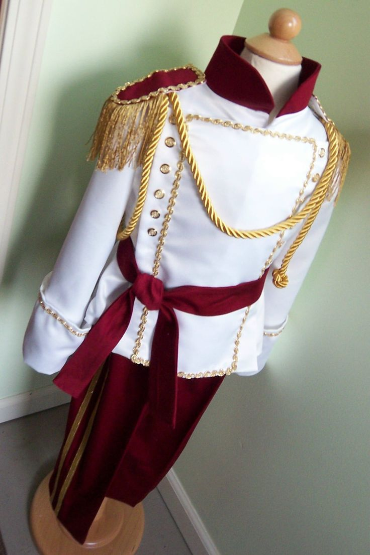 Stunning Boys Prince Costume - Size 4T - Ready to Ship