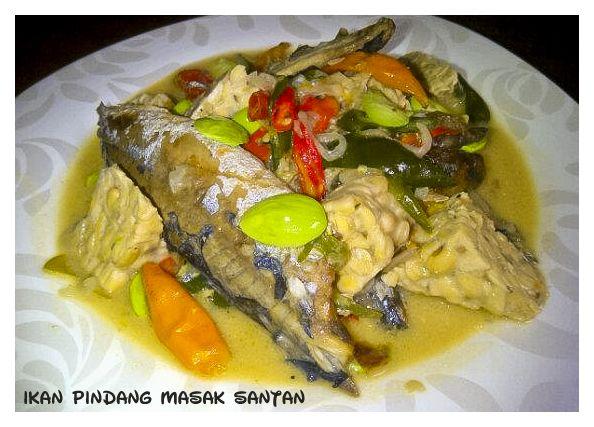 Ikan Pindang Masak Santan