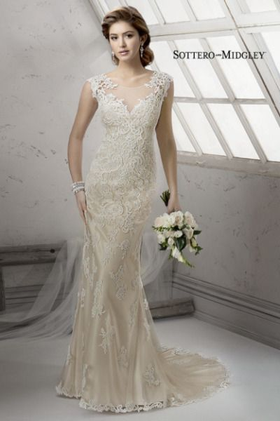 Lace Sottero and Midgley gown: http://www.stylemepretty.com/2014/11/03/21-of-our-favorite-lace-dresses/