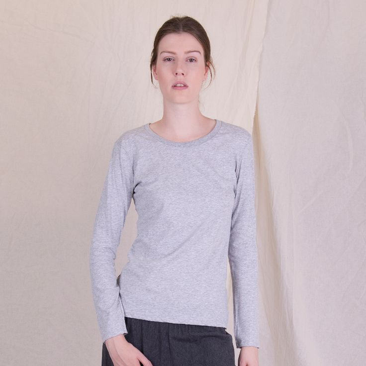 Organic cotton basic tee I