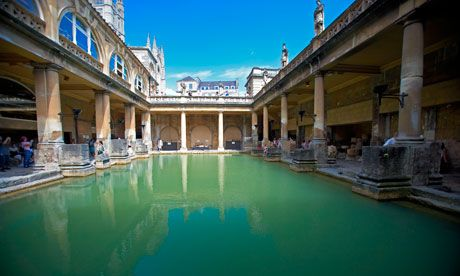 Roman baths, City of Bath, via the Guardian
