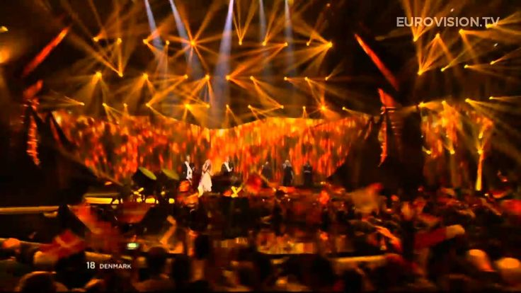 DENMARK WINS 2013 EUROVISION SONG CONTEST - Emmelie de Forest - Only Teardrops - LIVE - 2013 Grand Final