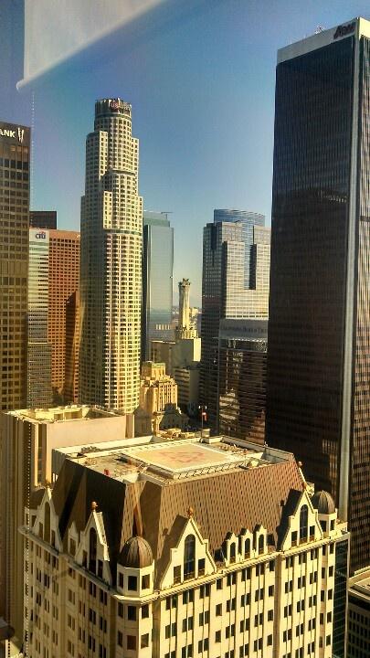 Los Angeles skyline #travel
