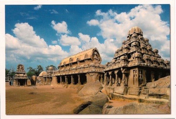 Mahabalipuram, Tamil Nadu, India. Shore Temple