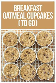 Skinny Mom Connection Recipes: Need your breakfast to go? Try these oatmeal cupcakes!