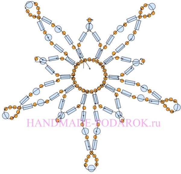 Beaded Star PATTERN