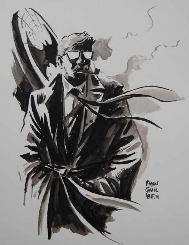 Commissioner James Gordon - Francesco Francavilla Comic Art