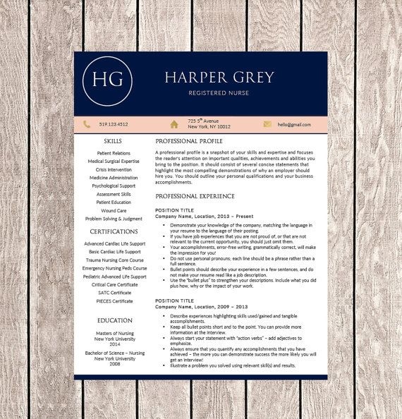 best 20 nursing resume template ideas on pinterest nursing