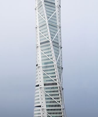 Turning Torso. Available as poster at printler.com, the marketplace for photo art. Photographer Marcus Cederberg.