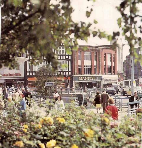 Oldham in the 70's.