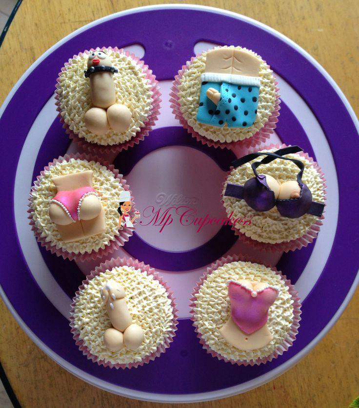 Cupcakes para despedida de solteros