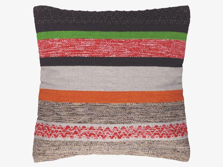 COATES MULTI-COLOURED Cotton 60 x 60cm multi-coloured cushion - HabitatUK
