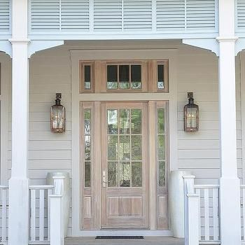 The Chic Technique Covered Porch with Turquoise Blue Accents. Gray SidingDoors GaloreCovered ... & 238 best Doors Galore images on Pinterest | Doors Windows and Home pezcame.com