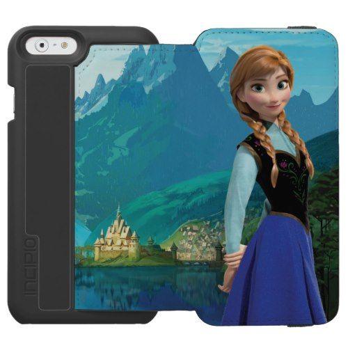 Anna 2 incipio watson™ iPhone 6 wallet case  Disney Frozen Products  https://www.artdecoportrait.com/product/anna-2-incipio-watson-iphone-6-wallet-case/  #Frozen #Anna #Disney #DisneyPrincess #Princess More Disney Gifts Ideas Here : www.artdecoportrait.com/shop