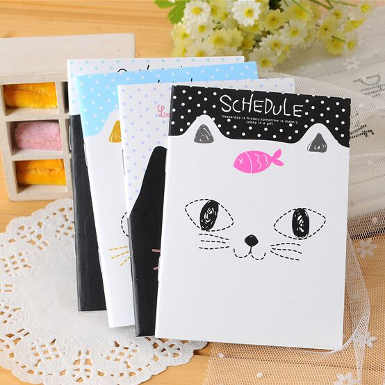2017 Sale Magista Kawaii Stationery Small Cute Cartoons School Notebook Paper Book Caderno Promotion Gifts 12.5*9cm K6271