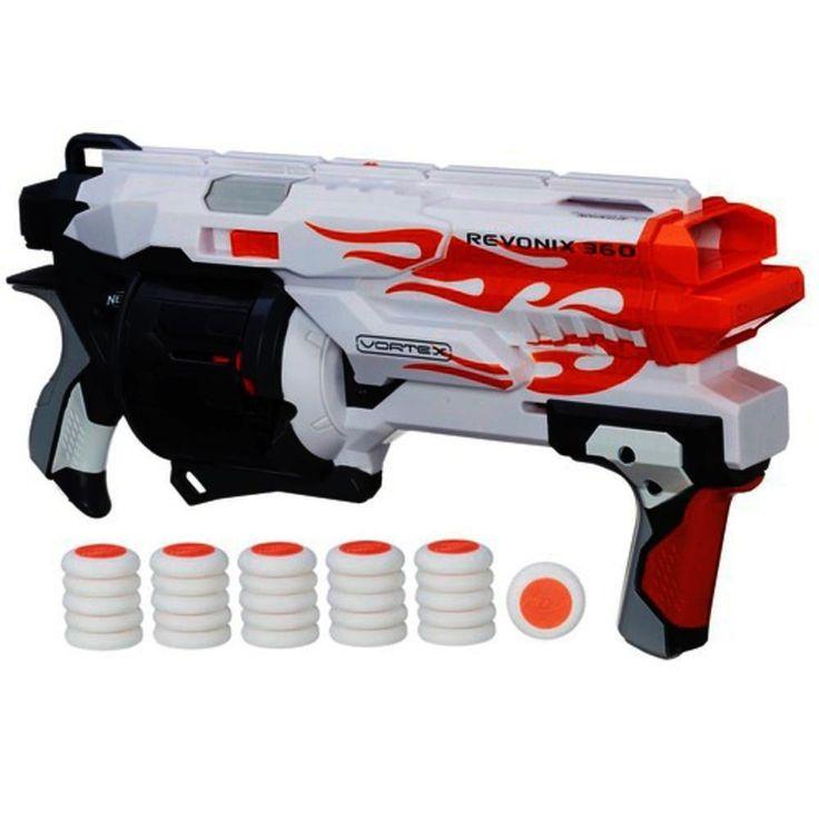 Nerf Vortex | Nerf Vortex Revonix360 Blaster | Outdoor Games for ages 8 YEARS & UP ...