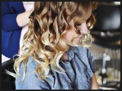 how to make curls with flat iron stay