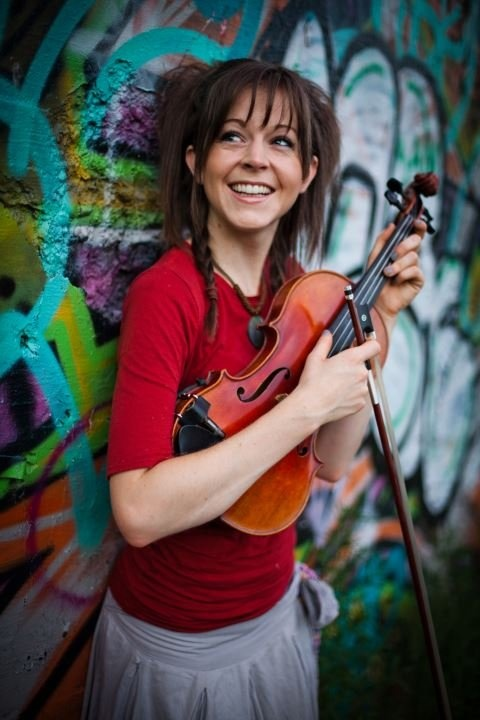 Lindsey Stirling, modern violinist! Amazing and extremely talented!