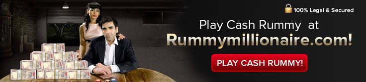 Play #cashrummy  games and become a real millionaire at RummyMillionaire.com!
