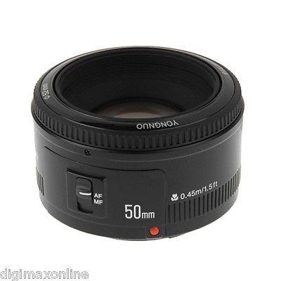 YONGNUO 50mm F1.8 Lens for Canon 300D 350D 400D 450D 500D 550D FREE DHL SHIPPING