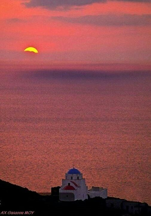Serifos sunset
