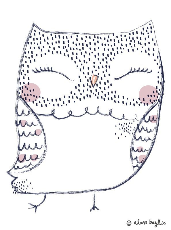 graphic, illustration, owl http://thisisgold.co.uk/